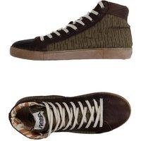 SPRINGA FOOTWEAR High-tops & sneakers Man on YOOX.COM Military green