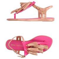 MELISSA + SALINAS FOOTWEAR Toe post sandals Women on YOOX.COM