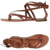 FABIO RUSCONI FOOTWEAR Toe post sandals Women on YOOX.COM