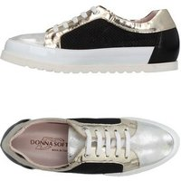 DONNA SOFT FOOTWEAR Low-tops & sneakers Women on YOOX.COM Platinum