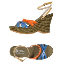 ESPADRILLES and COLLECTION PRIVĒE? SCHUHE Sandalen Damen on YOOX.COM