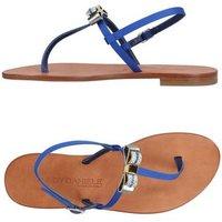 EDDY DANIELE FOOTWEAR Toe post sandals Women on YOOX.COM