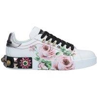Dolce & Gabbana DOLCE GABBANA SCHUHE Low Sneakers Tennisschuhe Damen on YOOX.COM