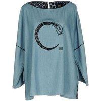 CAVALLI-CLASS-DENIM-Denim-shirts-Women-