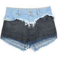 DIESEL-DENIM-Denim-shorts-Women-