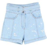 JUST-CAVALLI-DENIM-Denim-shorts-Women-