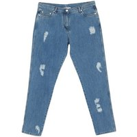 MOSCHINO-DENIM-Denim-trousers-Women-