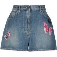 VALENTINO-DENIM-Denim-shorts-Women-