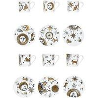 FORNASETTI ESSEN & KÜCHE Tee Kaffee Art Design on YOOX.COM