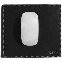 SID & VAIN Mousepad ELLIOT echte Leder schwarz Maus Pad Mouse Pad