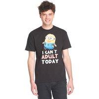 Minions Minions Adult Herren T-Shirt Schwarz