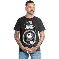 The Nightmare Before Christmas  Her Jack T- Shirt schwarz