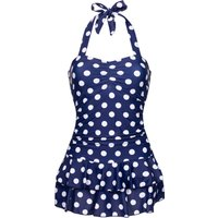 Pussy Deluxe Classic Summer Swimsuit blau