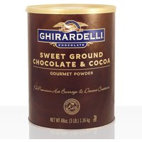 Ghirardelli Sweet Ground Chocolate Brown 1,3kg, Instant-Kakao