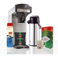 Melitta Kaffeeversorgung-Starterpaket inkl. Maschine, Kaffee und Zubehör