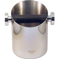 Motta Kaffeesatzbehälter, Ausklopfbox aus Edelstahl Barista Zubehör
