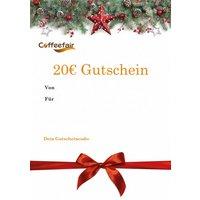 Gutschein über 20 € - Weihnachts-Edition