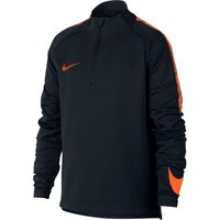 Nike Dri-Fit Squad Drill – Kinder Sweatshirt – 859292-015 schwarz/orange
