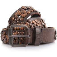 COWBOYSBELT Nietengürtel Women - 35328 - Brown