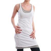 M.O.D Dress Women - SP12-DR007 - White-Grey Melange