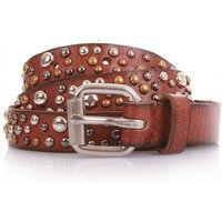 COWBOYSBELT Nietengürtel Women - 209064 - Juicy Tan