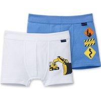 SCHIESSER Boys Hip Shorts Feinripp 2er Pack