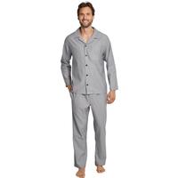 SCHIESSER Herren Pyjama Lang Mix & Relax Cotton Modal 1er Pack