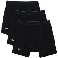Lacoste Underwear Herren Boxershort Essentials Feinripp 3er Pack