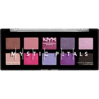 NYX Professional Makeup Mystic Petals Eyeshadow Palette Midnight Orchid 8g
