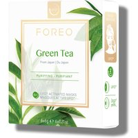 FOREO Green Tea UFO Purifying Face Mask 6 x 6g