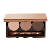 Nude by Nature Natural Illusion Eye Shadow Trio 6g Nude