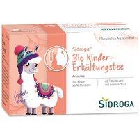 SIDROGA Bio Kinder-Erkältungstee Filterbeutel 30 g - Versandkostenfrei ab 20€