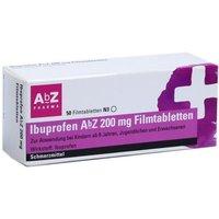 IBUPROFEN AbZ 200 mg Filmtabletten 50 St - Versandkostenfrei ab 20€