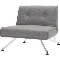 home24 Sessel Clubber Webstoff Grau