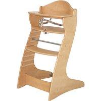 Roba Hochstuhl aus Holz, »Treppenhochstuhl Chair up, natur«