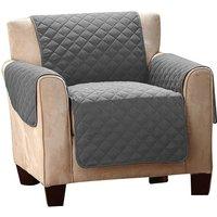 Funda para sillón CORINTHE - 165x179cm - Gris oscuro