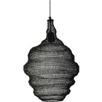 Lámpara NOURIA - Hierro- 37 x 37 x 55 cm – Negro