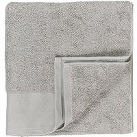 Lote de 2 toallas de baño BLOIS - 100x150 cm- 100% algodón - Gris claro