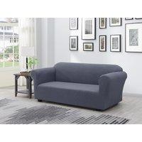 Funda de sofá extensible NAPLES - Ancho 230 cm - antracita