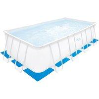 Lona de protección para el suelo de piscina rectangular BUNDORAN - 574 x 300 cm