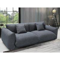 Sofá de 3 plazas de tela VAVIN - Antracita