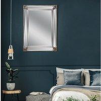 Espejo de pared biselado - ANALISE - Alt. 114 x Ancho 83 cm - Color champán