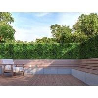 Revestimiento mural de vegetal sintético NEWRY - Pack de dm² - Verde