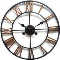 Reloj de pared IRON - Hierro - Diámetro 50 cm