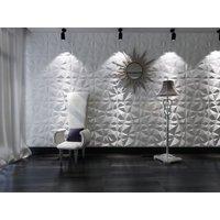 Panel mural 3D ANGLY para pintar - Pack de 3m2 - Lote de 12 piezas