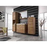 Conjunto MIELA - Muebles para el cuarto de baño - Efecto madera
