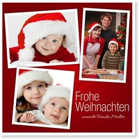 Private Weihnachtskarten / Private Weihnachtskarten | Gratis Musterkarten und Versand