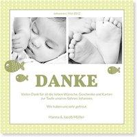Taufe Dankeskarten / Dankeskarten Taufe | Gratis Musterkarten und Versand