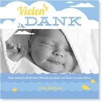 Dankeskarten Geburt / Dankeskarten Geburt | Gratis Musterkarten und Versand