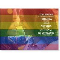 Einladungskarten Hochzeit gleichgeschlechtlich / Einladungskarten gleichgeschlechtliche Ehe   Wunderkarten